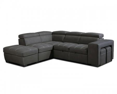 Droit Gris Premium Canapé Angle Canape Confort ZNwOk0P8nX